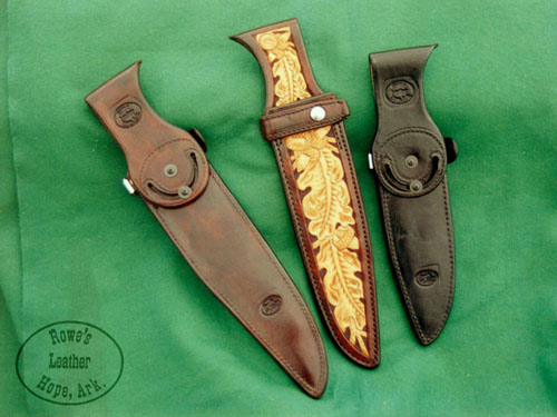 Belt loop knife sheath